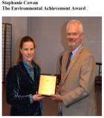 Stephanie Cowan The Environmental Achievement Award // Prix d'excellence en environnement
