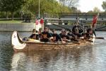 Ex-Cadet canoe team at Merrickville 2006