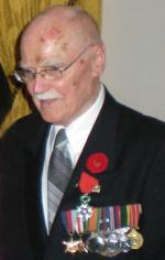 WO2 George Fouchard, CD (Ret'd)