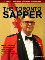 Toronto Sapper Dec 16 Cover