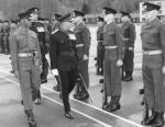 Sapper Apprentices on Parade