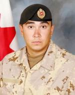 Sapper Steven Marshall was killed Oct. 30, 2009, while on patrol in Panjwai District about 10 km southwest of Kandahar City. He was the 133rd Canadian to die in Afghanistan. DND Photo.