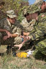 Canadian Sappers provide mine warfare and demolitions training to Ukrainian soldiers