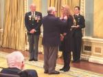 The Royal Canadian Legion's president David Flannigan presented the symbolic First Poppy to Her Excellency the Right Honourable Julie Payette, Governor General and Commander-in-Chief of Canada receives the symbolic First Poppy from the President of theRoyal Canadian Legion.