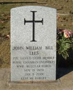 John William Lees Headstone