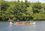"""""""La Chasse Galerie"""" paddling on Upper Rideau Lake (between the Narrows and Newboro)"""