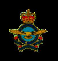 RCAF ERII Badge