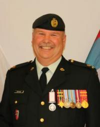 Maj Steve Arthurs, CD