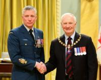 Chief Warrant Officer  // L'adjudant-chef Raymond Nicholas McEachern, M.M.M., C.D.