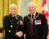 Warrant Officer // L'adjudant Erica Oliver, M.M.M., C.D.