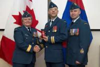 MGen Whitecross Major Michael Hocquard and CWO Gilles Caouette // Mgén Whitecross, Major Michael Hocquard et l'Adjuc Gilles Caouette