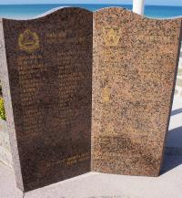 This memorial lists the names of soldiers of the 8th Infantry Brigade killed during the assault.  Among the names are six members of the 5th Field Company, Royal Canadian Engineers.