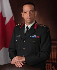 Colonel Martin Gros-Jean Commander of CF RP Ops Gp // Colonel Martin Gros-Jean, Commandant du Gp Ops Imm FC