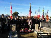 Graveside Comemmoration of War Dead