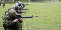 Canadian Marksmen at US National Guard Marksmanship Training Center in Little Rock, AR
