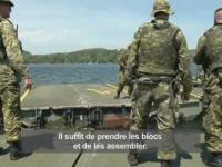 3-minute Army News video Engineer operations during G8 Summit.