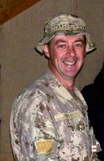 Major Shawn A. Milley, CD