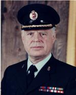 Colonel Sutherland-Brown, DSO, CD Colonel Commandant Canadian Military Engineers