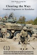 """Clearing the Way: Combat Engineers in Kandahar"" Poster"