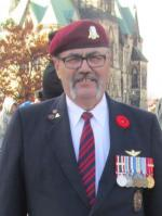 Sgt Harvey Maurice Desjardine, CD (Retd)