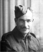 Arthur Thomas Jackson, killed in action on June 6th, 1944 on D-Day. Arthur was one of eleven Jackson men who served from Shelburne, Nova Scotia. All were brothers or first cousins. Arthur was the only family member killed in action.