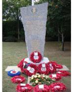 RCE Dieppe Memorial in Newhaven, England