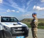 Patrouille UNFICYP 2017
