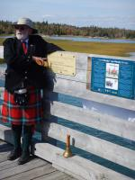 A Toast to Canada's Military Engineers by Cole Harbour Trails & Parks Association Chair and Town Crier Michael McFadden