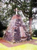 The Sandwick Cairn in Courtenay BC, first dedicated in 1922