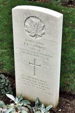 Spr Sawdon's gravestone at Beny-sur-Mer