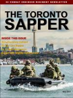 Toronto Sapper May 2017