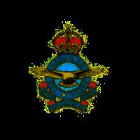 RCAF GRVI Badge