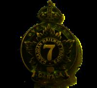 7th Bn Cdn Rwy Tps