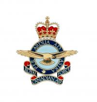 RCAF Badge ERII