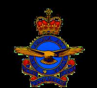 RCAF EIIR Badge