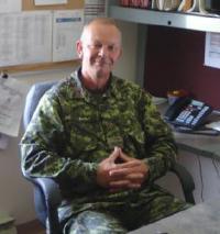 Capt Karl Ellis, MMM, CD