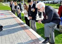 Over 300 engraved bricks were sold to help raise funds.