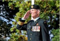 BGen R.W. (Des) DesLauriers, OMM, CD (Ret'd) Colonel Commandant, Canadian Military Engineers.