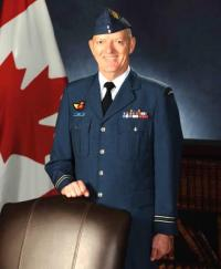 Capt Frank Locke, MMM, CD