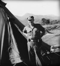 2Lt Vic Johnson in Korea
