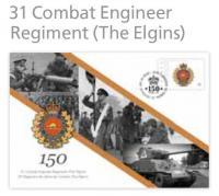 Commemorative Envelope 31 CER (The Elgins)
