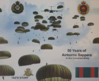 50 Years of Airborne Sappers - Cover