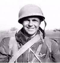 Then S/Sgt Andy Andrews taken in 1945