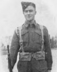 David Maxwell Boutilier in Uniform