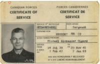 Certificate of Service, Sgt Michael Alexander Olgerd Brodsky MM, CD (Ret'd)
