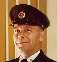 CWO Frederick James Burgess (Ret'd)