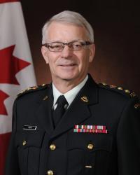 Colonel Commandant, BGen Steve Irwin (Ret'd)