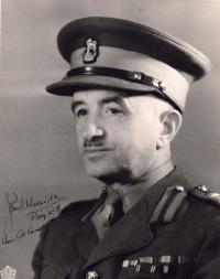 Brigadier J.L. Melville, OBE, MC, ED, CD – Canadian Military Engineers Colonel Commandant (1962-1973)