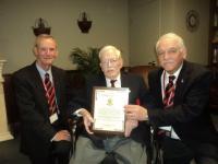 CMEA Commendation - Major G. Vincent Clark, CD (Ret'd)