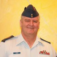 CWO André Caron on Retirement